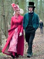 Abbie Cornish and Ben Whishaw in Bright Star