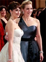 Penelope Cruz and Kate Winslet at the 81st Annual Academy Awards