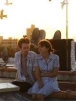 Mark Rendall and Zoe Kazan in The Exploding Girl