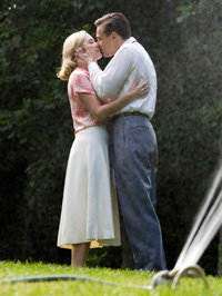 (from left) Kate Winslet and Leonardo DiCaprio in Revolutionary Road