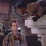 (from left) Bill Murray and Ernie Hudson in Ghosbusters