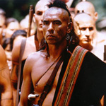 Wes Studi in The Last of the Mohicans