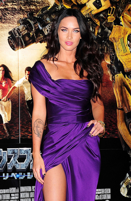 Megan Fox at the Tokyo premiere of Transformers: Revenge of the Fallen
