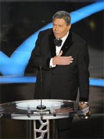 Jerry Lewis accepting the Jean Hersholt Award at the 81st Annual Academy Awards