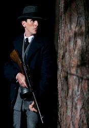 Christian Bale in Public Enemies