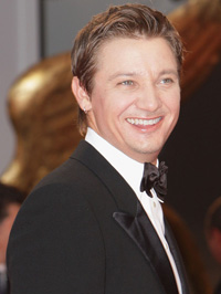 Jeremy Renner at the 2008 Venice Film Festival