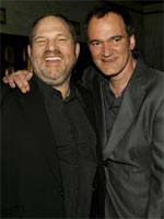 Harvey Weinstein and Quentin Tarantino