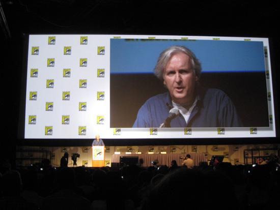 James Cameron at the 2009 San Diego Comic-Con International