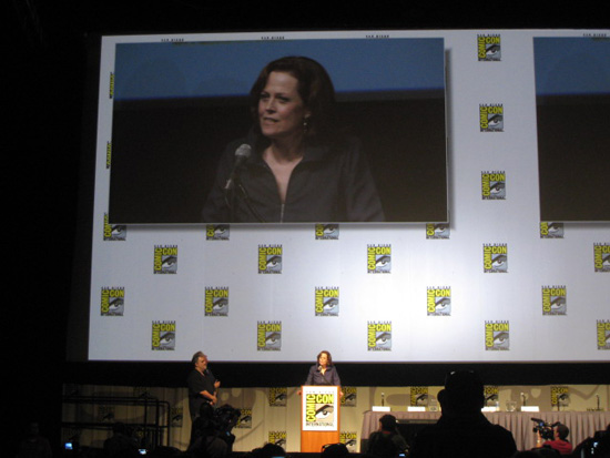 Sigourney Weaver at the 2009 San Diego Comic-Con International