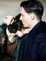 Marion Cotillard and Johnny Depp in Public Enemies