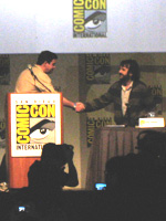 Peter Jackson at the 2009 San Diego Comic-Con International