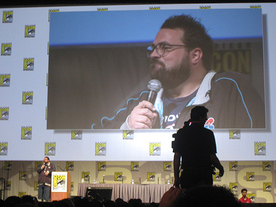 Kevin Smith at the 2009 San Diego Comic-Con International