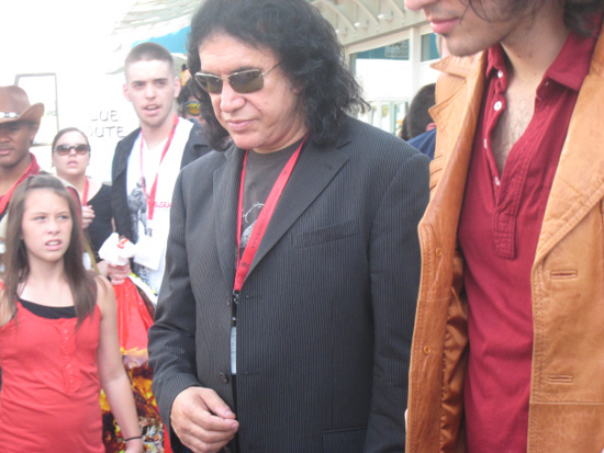 Gene Simmons at the 2009 San Diego Comic-Con International