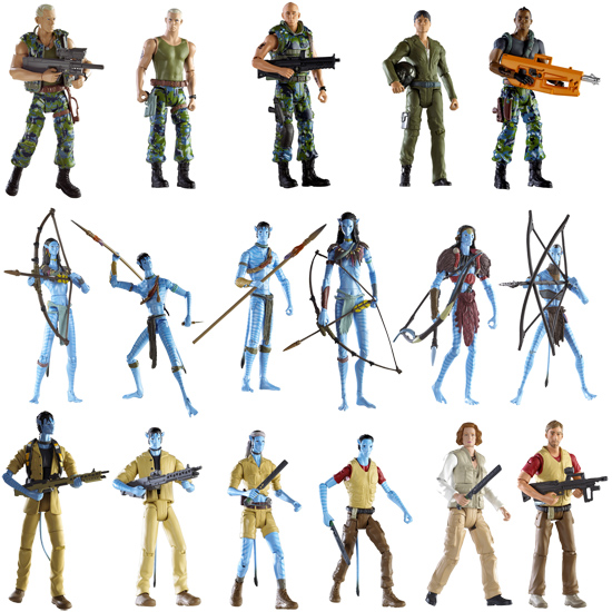 Avatar' action figures unveiled