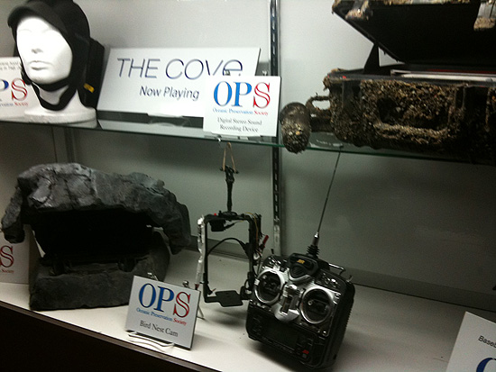 The Cove display at the Arclight in Hollywood