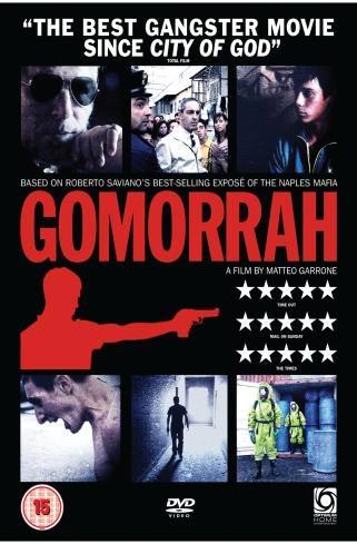 UK DVD cover for Gomorrah
