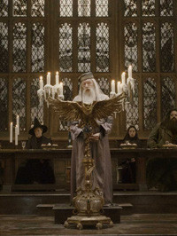 Michael Gambon in Harry Potter and the Half-Blood Prince