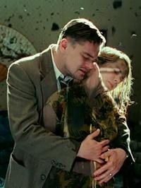 (from left) Leonardo DiCaprio and Michelle Williams in Shutter Island