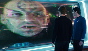 (from left) Eric Bana, Chris Pine and Zachary Quinto in Star Trek