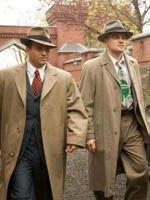 (from left) Mark Ruffalo and Leonardo DiCaprio in Shutter Island