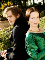 Rupert Friend and Emily Blunt in The Young Victoria