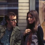(from left) Woody Allen and Diane Keaton in Annie Hall