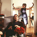 (from left) Kevin Spacey and Annette Bening in American Beauty