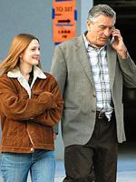 (from left) Drew Barrymore and Robert De Niro in Everybody's Fine