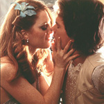 (from left) Julianne Moore and Mark Wahlberg in Boogie Nights