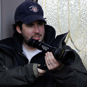 Jason Reitman on the set of Juno