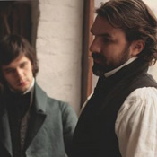 (from left) Ben Wishaw and Paul Schneider in Bright Star