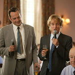 (from left) Vince Vaughn and Owen Wilson in Wedding Crashers