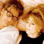 (from left) Colin Firth and Julianne Moore in A Single Man