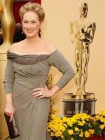 Meryl Streep at the 81st annual Academy Awards