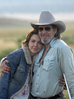 (from left) Maggie Gyllenhaal and Jeff Bridges in Crazy Heart