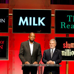 (from left) Forest Whitaker and Sid Ganis announce the nominees for the 81st annual Academy Awards