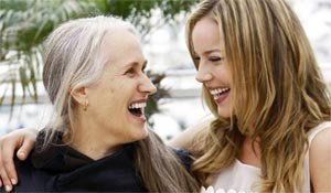 Jane Campion and Abbie Cornish