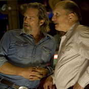 (from left) Jeff Bridges and Robert Duvall in Crazy Heart