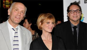 John Malkovich, Jessica Haines and Steve Jacobs at the 2008 Toronto Film Festival