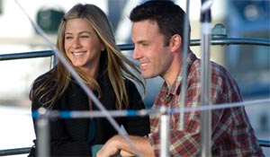 Jennifer Aniston and Ben Affleck in He's Just Not That Into You