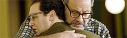 (from left) Michael Stuhlbarg and Fred Melamed in A Serious Man