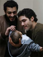 (left to right) Adel Bencherif and Tahar Rahim in A Prophet
