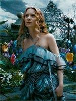 Mia Wasikowska in Alice in Wonderland