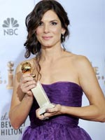 Sandra Bullock at the 2009 Golden Globe Awards