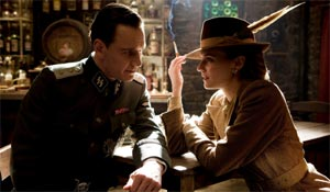 Michael Fassbender and Diane Kruger in Inglourious Basterds