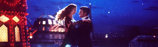 Nicole Kidman and Ewan McGregor in Moulin Rouge!