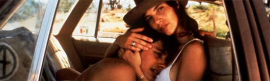 Gael Garcia Bernal and Maribel Verdu in Y tu Mama Tambien