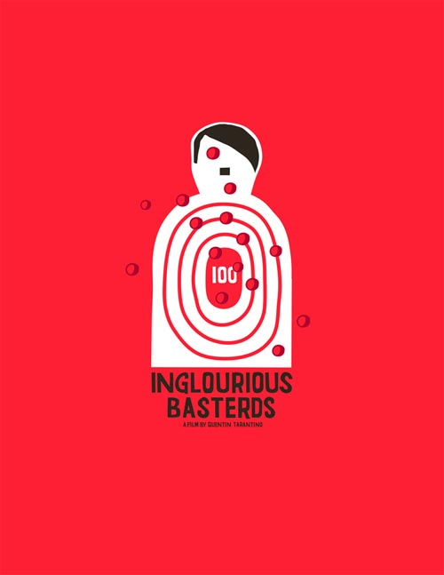 Inglourious Basterds poster design by Grotesk