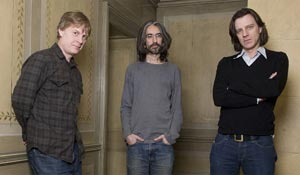 (from left) Julian Jarrold, Anand Tucker and James Marsh