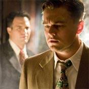 Mark Ruffalo and Leonardo DiCaprio in Shutter Island